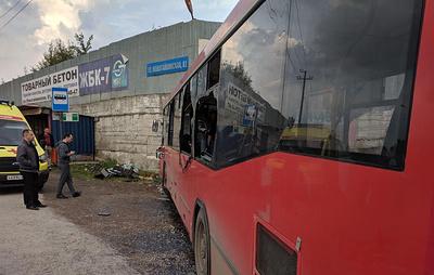 Власти Перми назвали причину ДТП с маршрутным автобусом