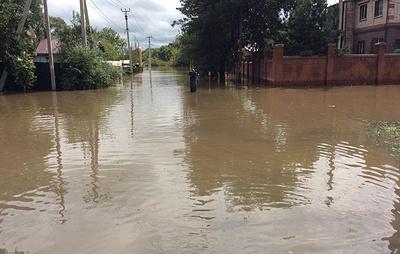 В зоне подтопления после ливней в Приморье оказались 1,8 тыс. человек