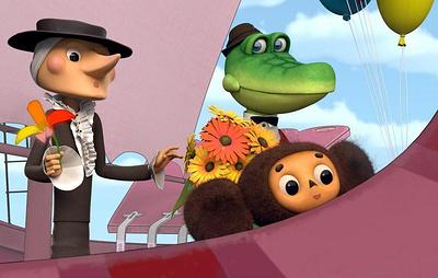 """""""Союзмультфильм"""" впервые показал, как будут выглядеть Чебурашка и Крокодил Гена в 3D"""