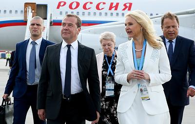 Медведев осмотрел площадку для проведения чемпионата WorldSkills