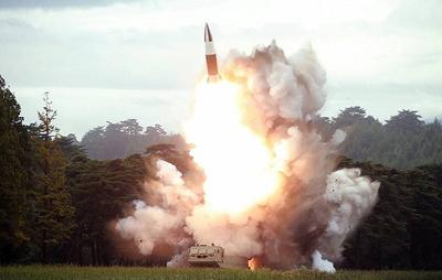 В Японии сообщили, что КНДР произвела очередной ракетный пуск