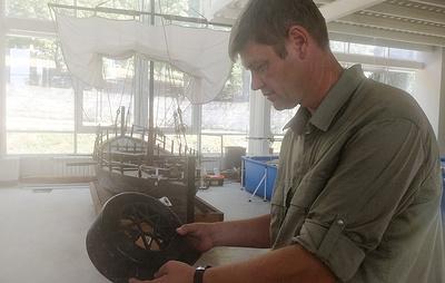 """""""Командирские"""" радиостанции со звездой с затонувшего линкора появятся в музее Севастополя"""