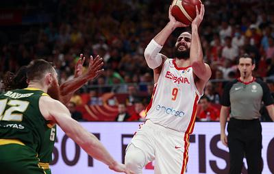 Испанские баскетболисты во второй раз в истории вышли в финал Кубка мира