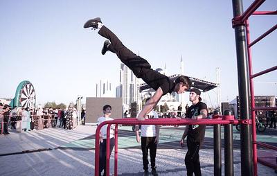 Первый молодежный фестиваль уличной культуры прошел на центральной площади в Грозном
