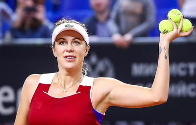 Павлюченкова стала лучшей из россиянок в рейтинге WTA после финала на турнире в Японии