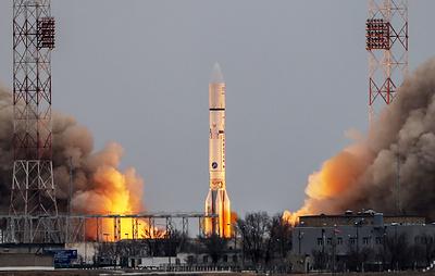 """Ракета """"Протон-М"""" стартует с Байконура. Видеотрансляция"""