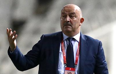 Черчесов: в сборной России не будет равнодушных футболистов в матче с бельгийцами
