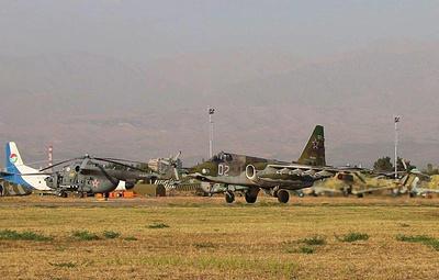 Россия отправит на учения ОДКБ в Таджикистане 18 самолетов и вертолетов