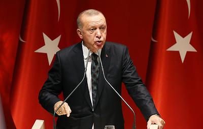 Эрдоган заявил, что Турция вскоре создаст зону безопасности на севере Сирии