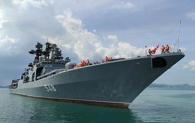 Корабли Тихоокеанского флота прибыли в Таиланд