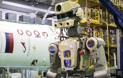 """Робот """"Федор"""" выполнил на МКС секретные операции, о которых знает только Рогозин"""