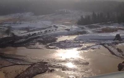 Росприроднадзор проверит уровень загрязнения реки Сейба после прорыва дамбы