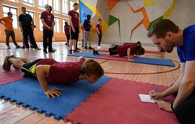 Московские школьники вместе с учителями 26 октября выполнят упражнения комплекса ГТО