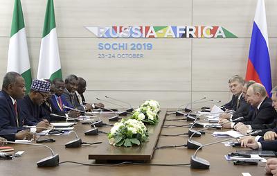 Участники форума в Сочи уверены, что РФ и Африка выбрали лучшее время для сотрудничества