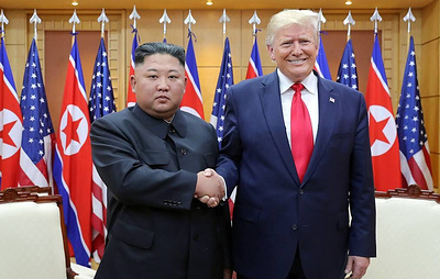 В МИД КНДР заявили о доверии Ким Чен Ына и Трампа друг другу