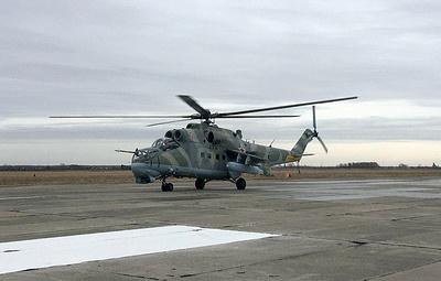 В авиабригаде Свердловской области завершили формирование эскадрильи ударных Ми-24П