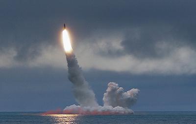 """Подлодка проекта """"Князь Владимир"""" на испытаниях впервые провела стрельбу ракетой """"Булава"""""""
