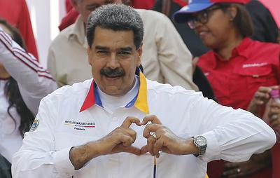 Мадуро заявил, что готов отдать жизнь за Боливию и Моралеса
