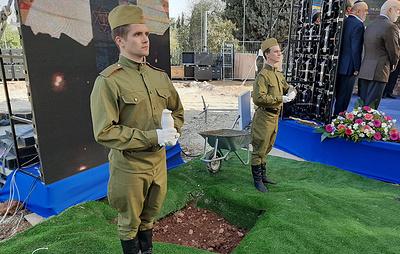 В Иерусалиме заложили первый камень памятника блокадникам Ленинграда