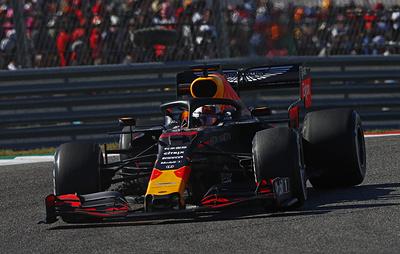 "Пилот ""Ред Булл"" Ферстаппен выиграл квалификацию Гран-при Бразилии ""Формулы-1"""