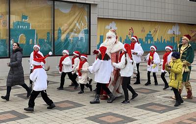 Дед Мороз из Великого Устюга открыл новогодние торжества на Ставрополье