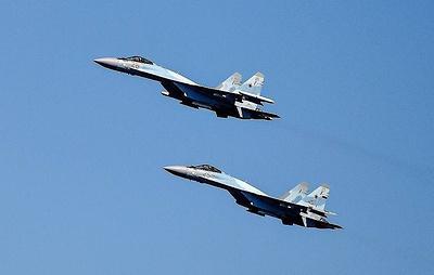 Российские самолеты пять раз за неделю поднимались на перехват у границ РФ