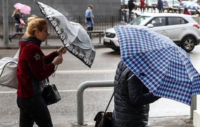 В нескольких регионах Центральной России объявили оранжевый уровень опасности из-за ветра