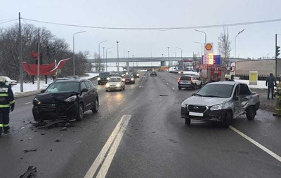 Четыре человека пострадали в ДТП в Воронеже