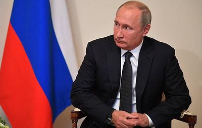 РБК: послание Путина парламенту покажут на фасадах московских зданий