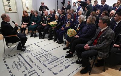 """Путин обещал поддержать проект ОНФ по запуску мобильного приложения """"Помощь для ветеранов"""""""