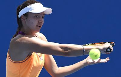 Россиянка Гаспарян проиграла в первом круге Australian Open