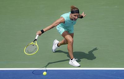 Светлана Кузнецова обыграла чешку Вондроушову в первом круге Australian Open
