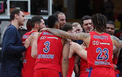 ЦСКА одержал четвертую победу подряд в баскетбольной Евролиге