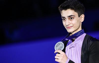 Фигурист Даниелян назвал серебро чемпионата Европы лучшим результатом в карьере