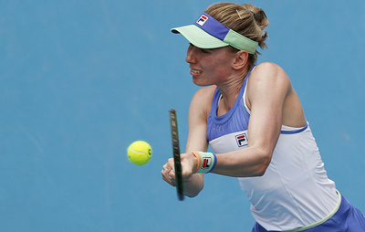 Первая ракетка России Александрова не смогла выйти в четвертый круг Australian Open