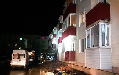 В Новгородской области восемь человек пострадали при пожаре в жилом доме