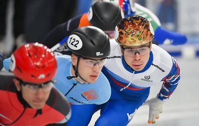 Россиянин Елистратов стал третьим на дистанции 500 м на ЧЕ по шорт-треку