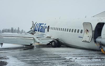 Источник: пассажирский самолет при посадке в аэропорту Усинска в Коми ударился хвостом