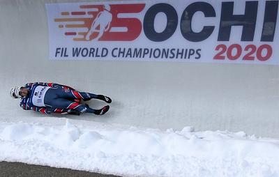 Саночник Денисьев, выигравший золото ЧМ в спринте, получил травму в субботней гонке
