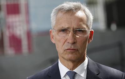 Генсек НАТО заявил, что альянс ведет интенсивные и открытые дискуссии с Россией
