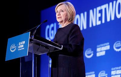 """Клинтон назвала Трампа """"марионеткой"""" в связи со спекуляциями о вмешательстве РФ в выборы"""