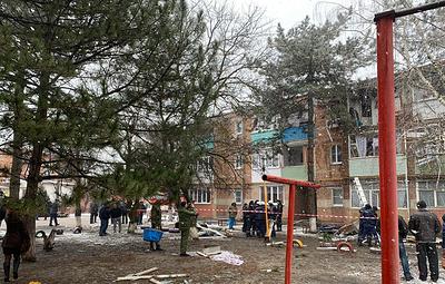 Два человека погибли при взрыве газа в жилом доме в Ростовской области