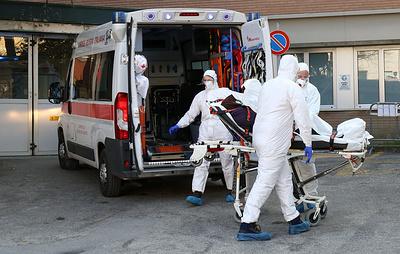 В Италии 18 пациентов с коронавирусом из 66 находятся в реанимации