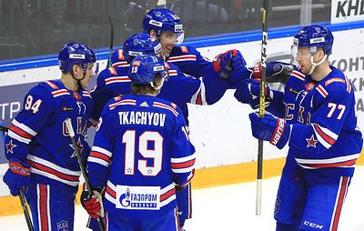 """СКА разгромил """"Йокерит"""" и продлил победную серию в КХЛ до 11 матчей"""