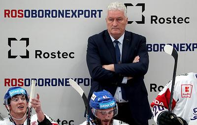 Ржига отметил, что хочет продолжить работу со сборной Чехии по хоккею