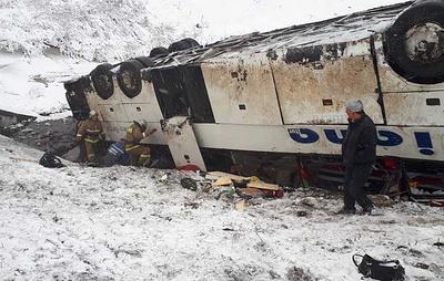 Три человека погибли в результате столкновения двух автобусов в Тамбовской области