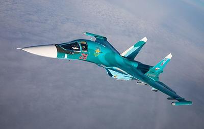 Пилоты Су-34 отработали применение 250-килограммовых авиабомб на полигоне в Зауралье
