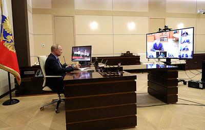 Путин назвал оправданным введение режима самоизоляции в Москве и Подмосковье