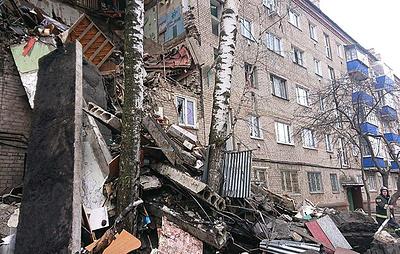 При взрыве газа в жилом доме в Подмосковье погиб один человек