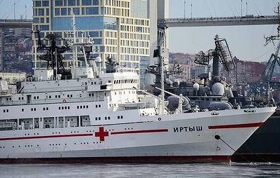 """Судно """"Иртыш"""" вернется на главную базу ТОФ во Владивостоке к середине апреля"""